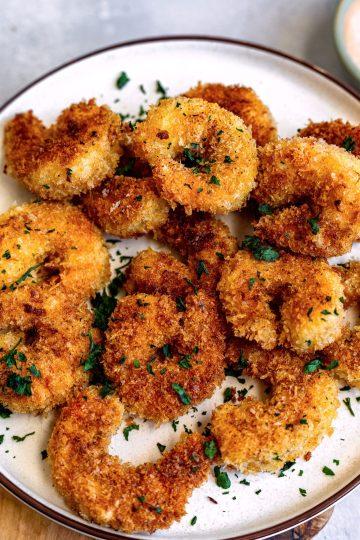 Crispy Air Fried Shrimp - Dash Of Mandi