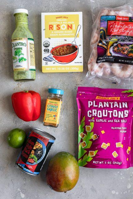Trader Joe's Cuban shrimp bowls ingredients