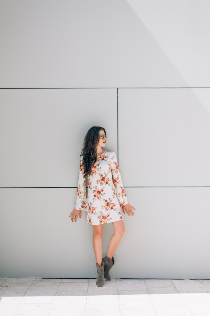 Floral Dress - Nordstrom - Miami Sty
