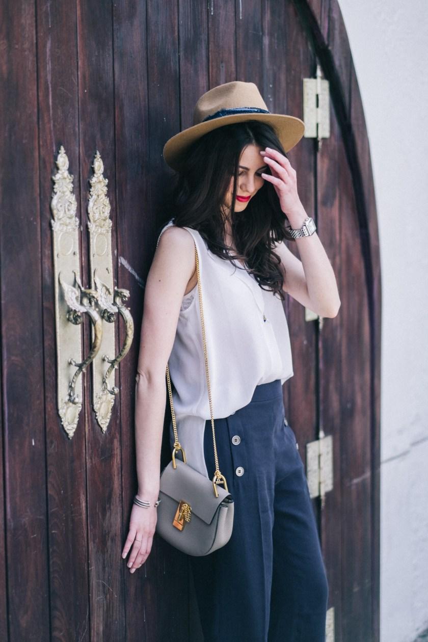 Spring Style - Miami fashion blogger - Culottes
