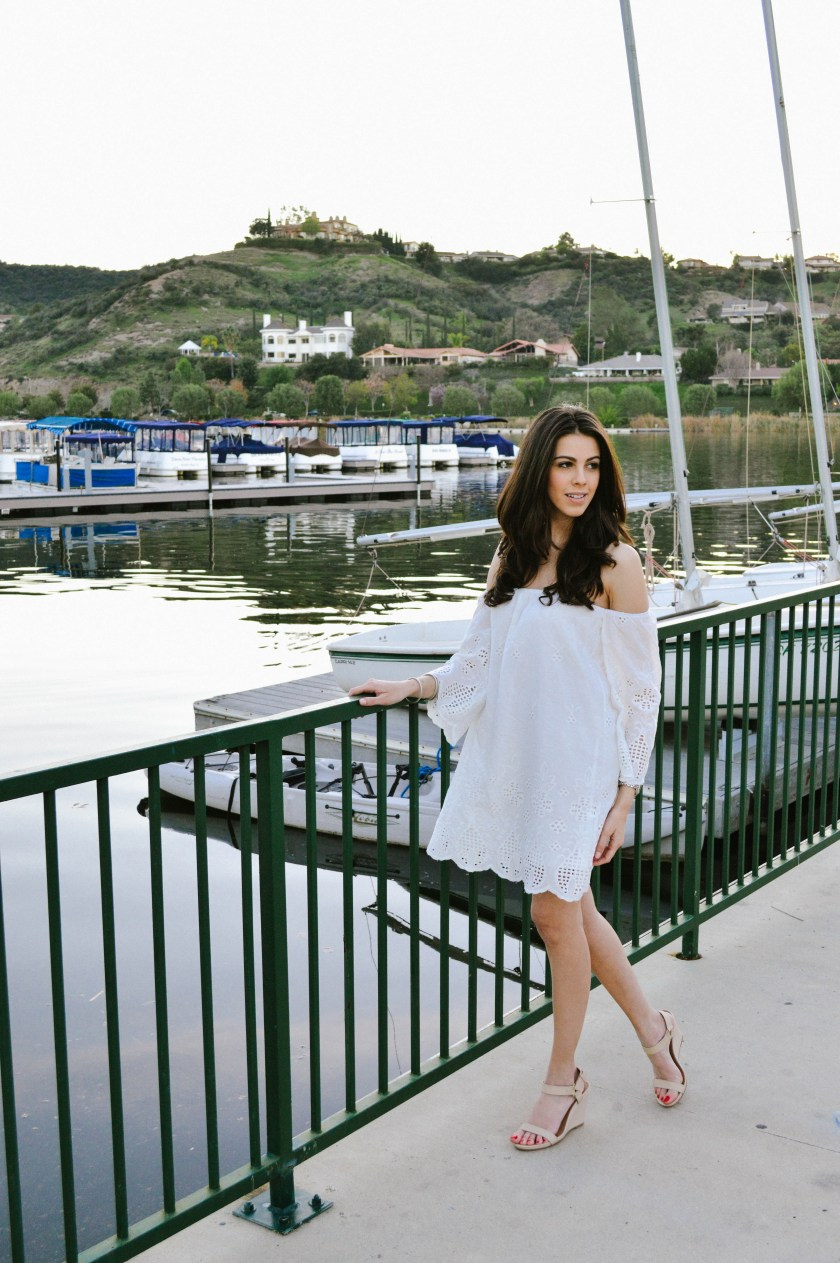White Dress Sailing 1