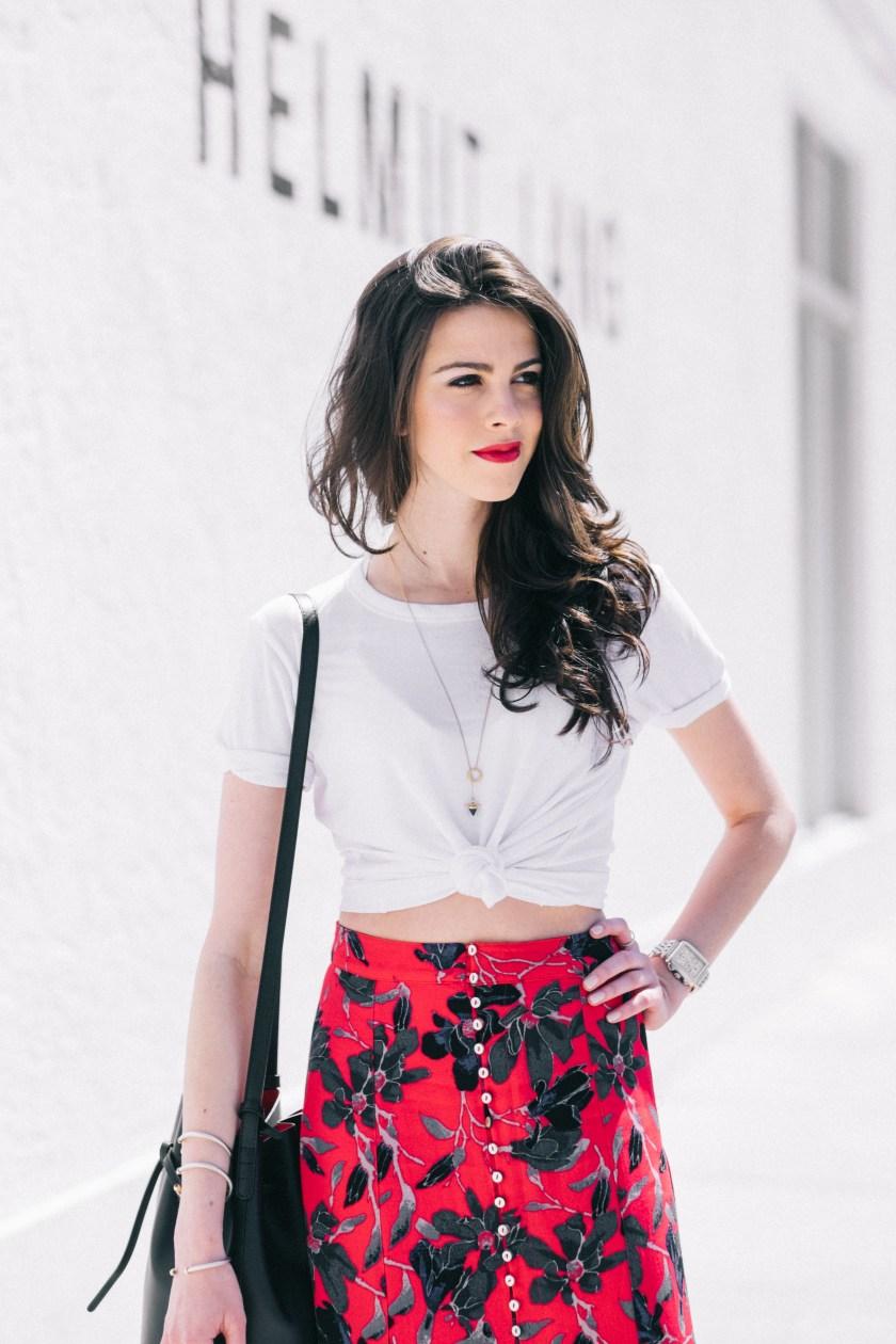Free People skirt- miami fashion blogger-spring style