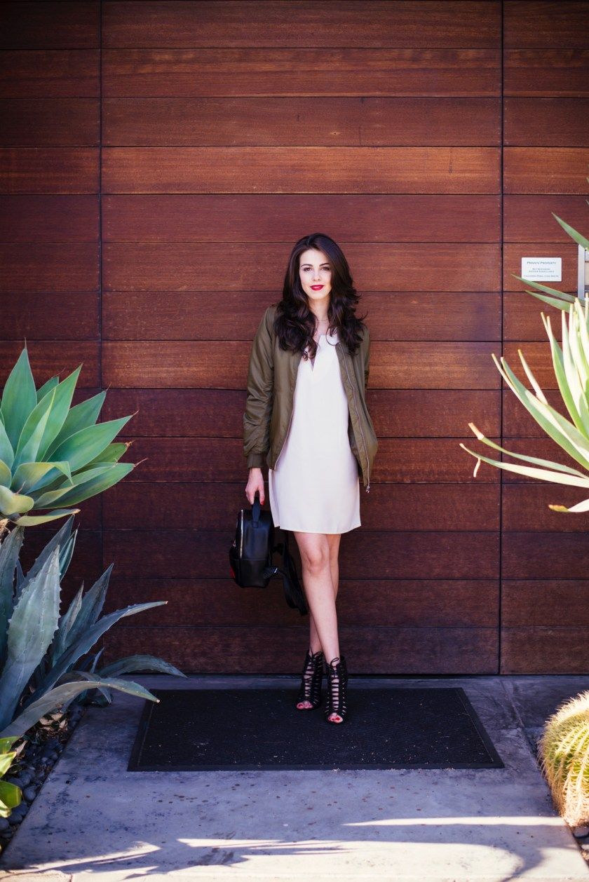 Jackie Roque styling the new Forever 21 Pre-Fall Collection