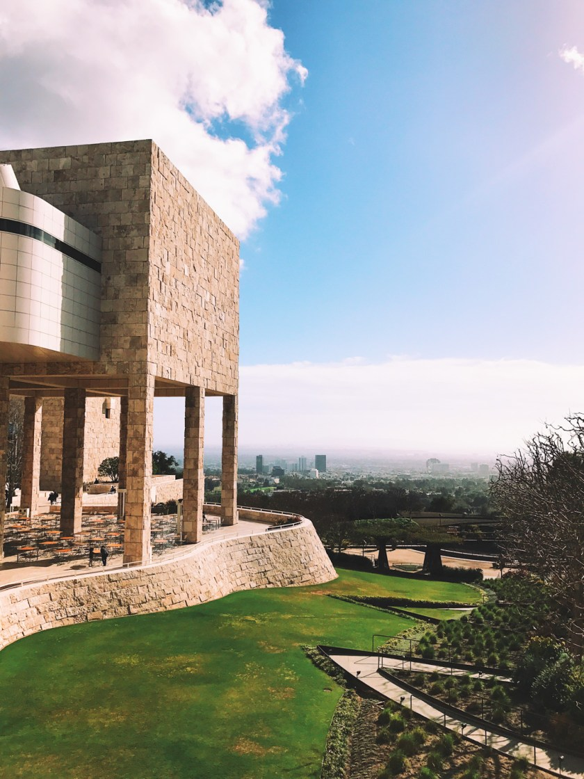 The getty museum architecture
