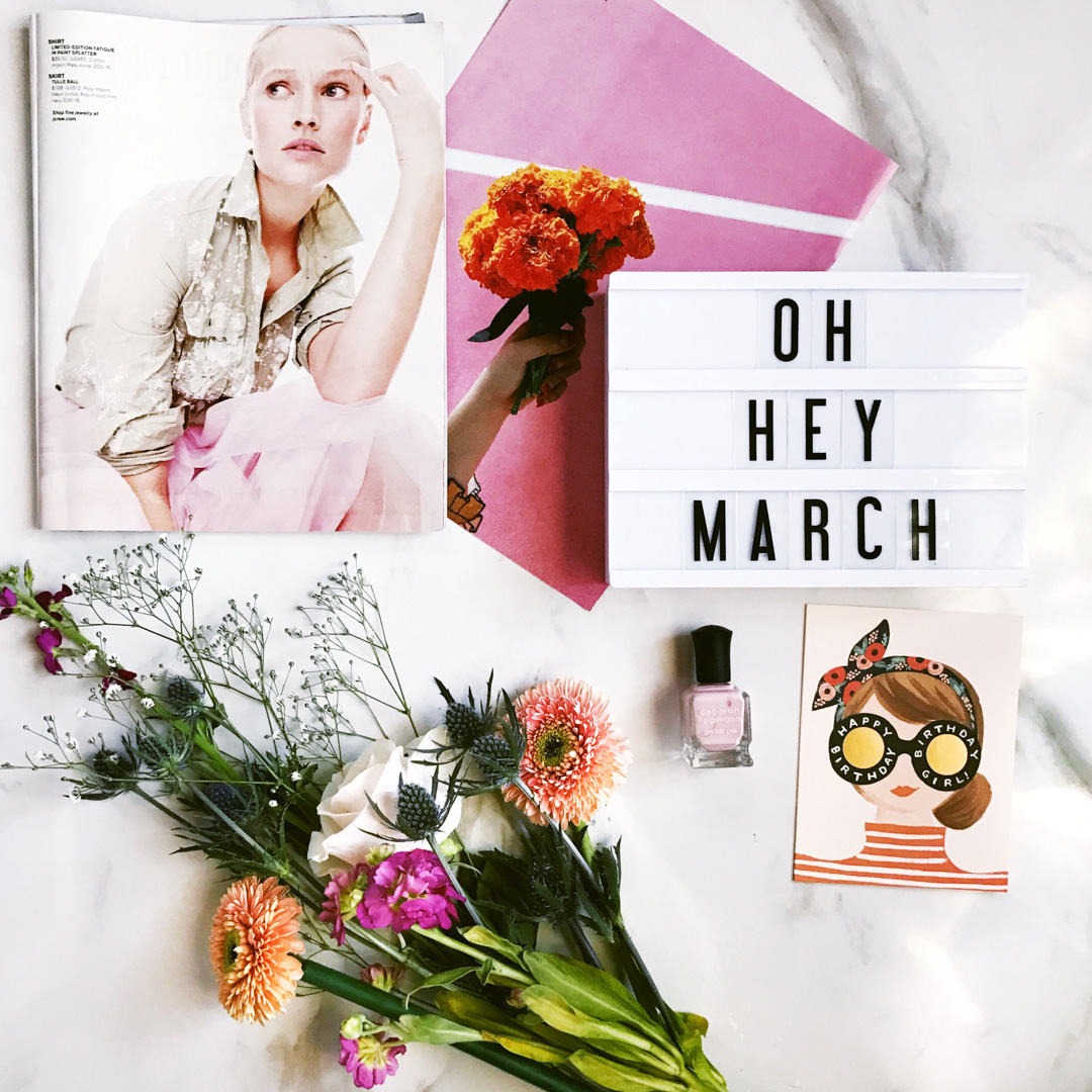 jackie roque's march mood board