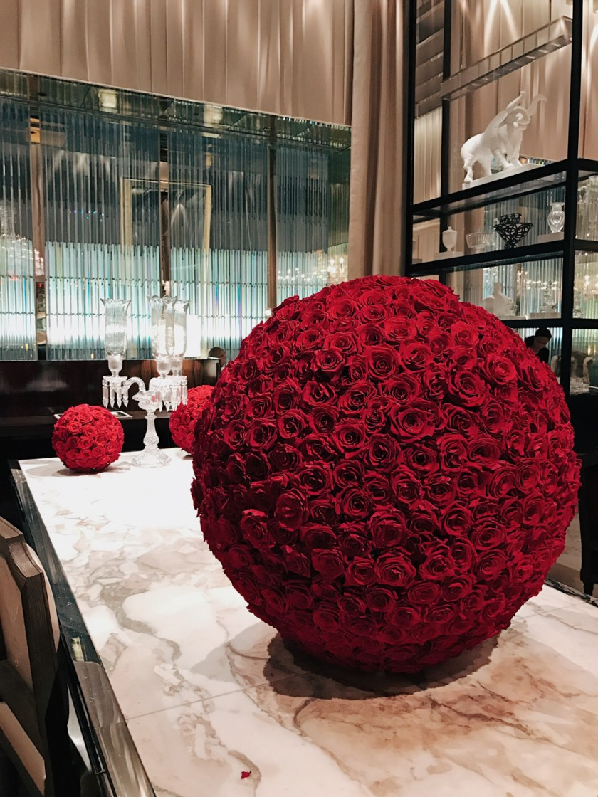 Red Roses at The Baccarat