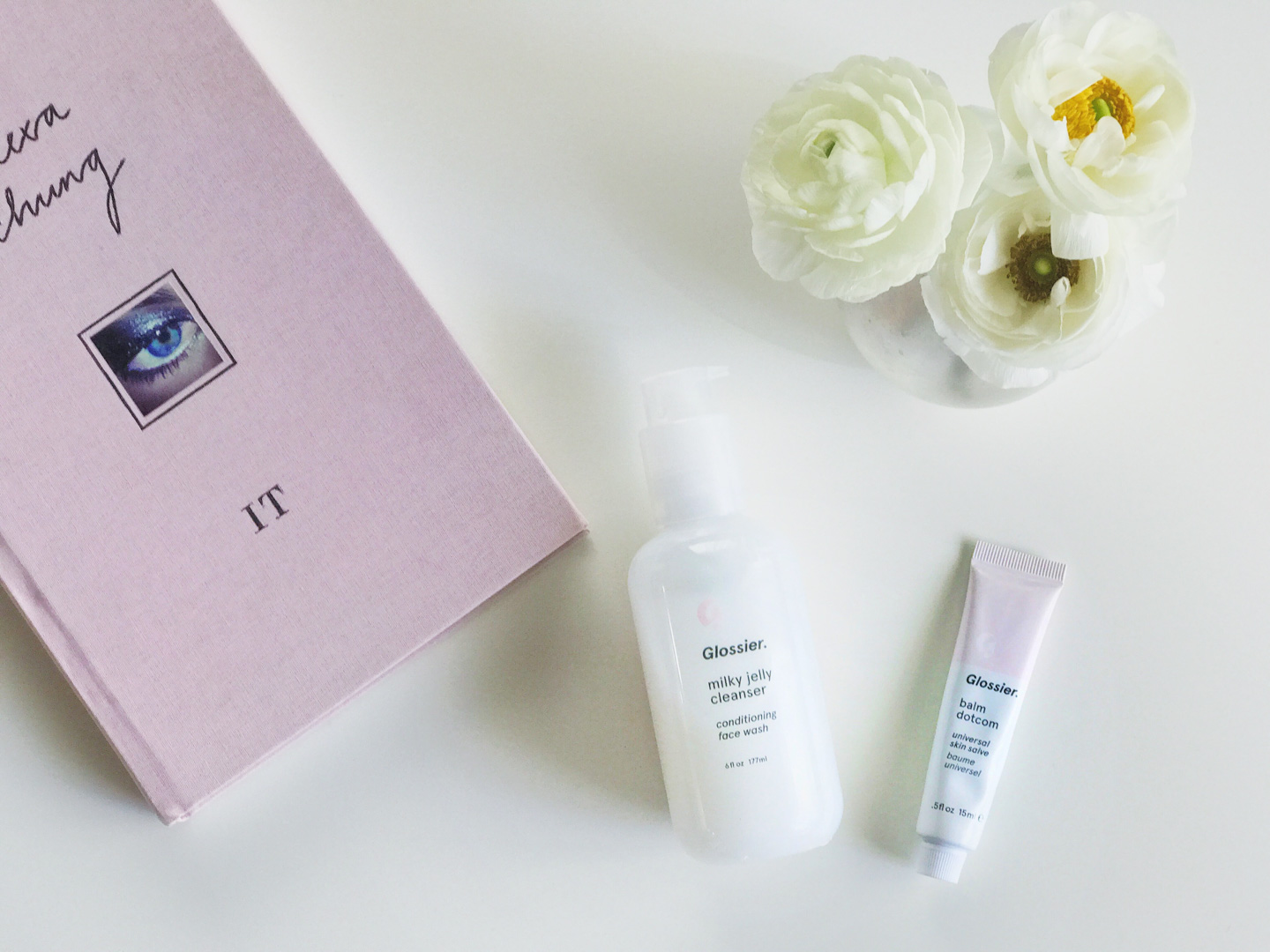 Glossier Milk Jelly Cleanser and Balm Dotcom