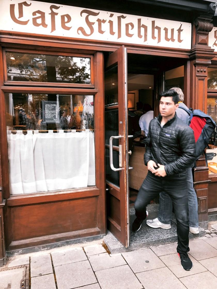 Cafe Frifenhut munich germany