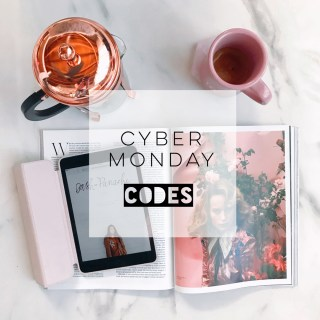 Cyber Monday codes for 2017