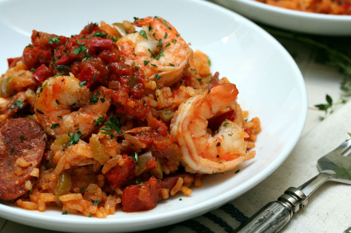 Cajun creole jambalaya for Authentic cajun cuisine