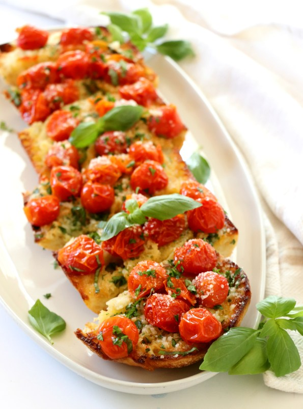 Roasted Cherry Tomato Ciabatta Bread