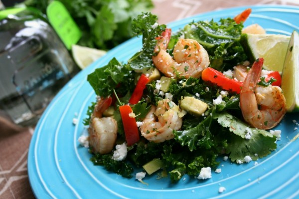 Margarita Shrimp Salad | Dash of Savory