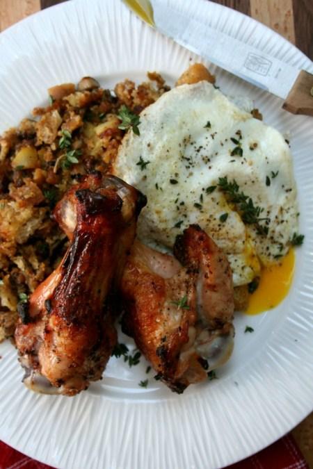 BBQ'd Maple Smoked Turkey