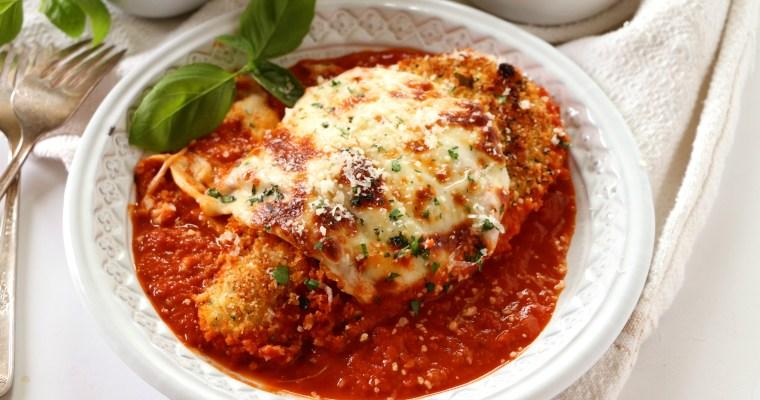 Healthy Baked Italian Chicken
