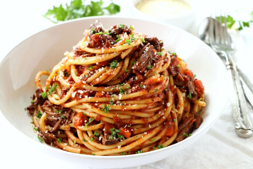 Braised Short Rib Pasta   Dash of Savory   Cook with Passion