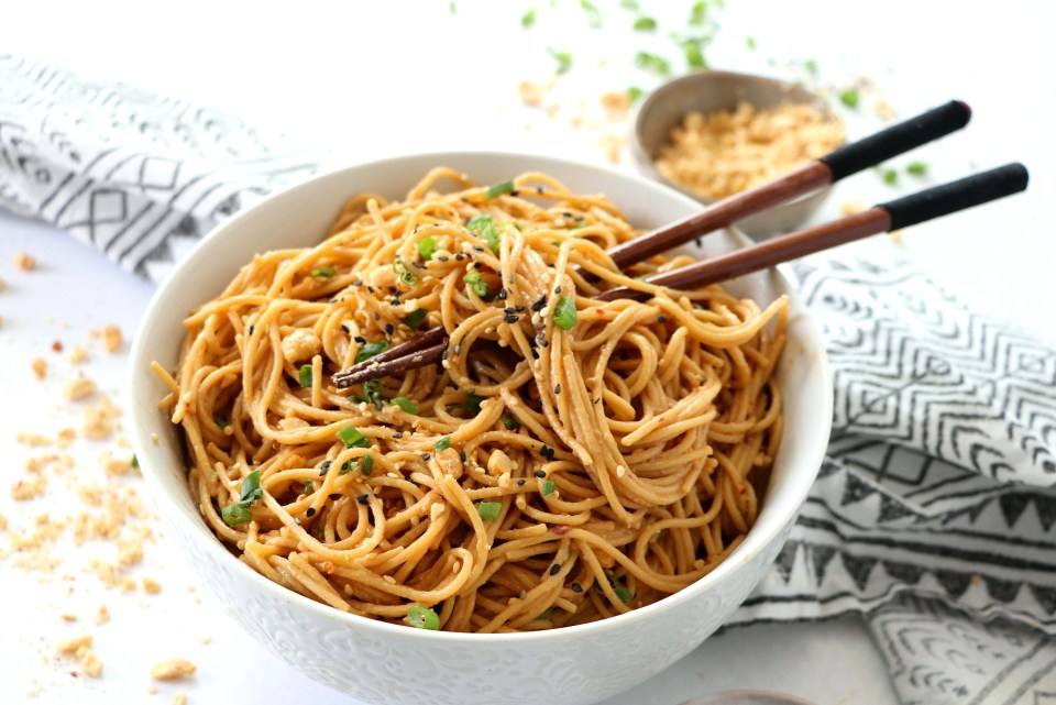 Spicy Peanut Noodles