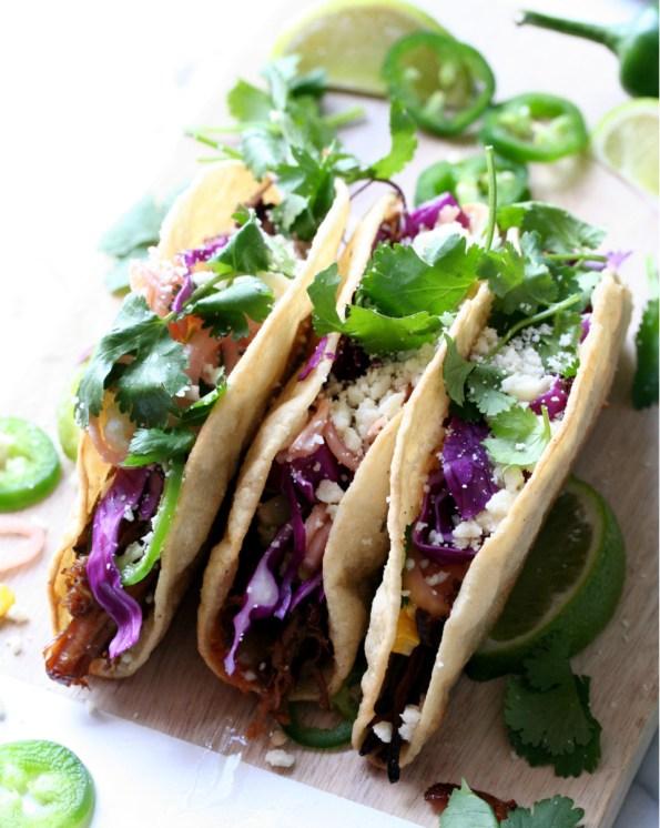 Slow Cooker Carnitas Tacos