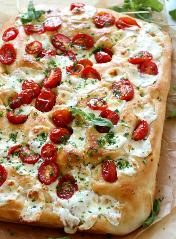 Tomato Mozzarella Focaccia
