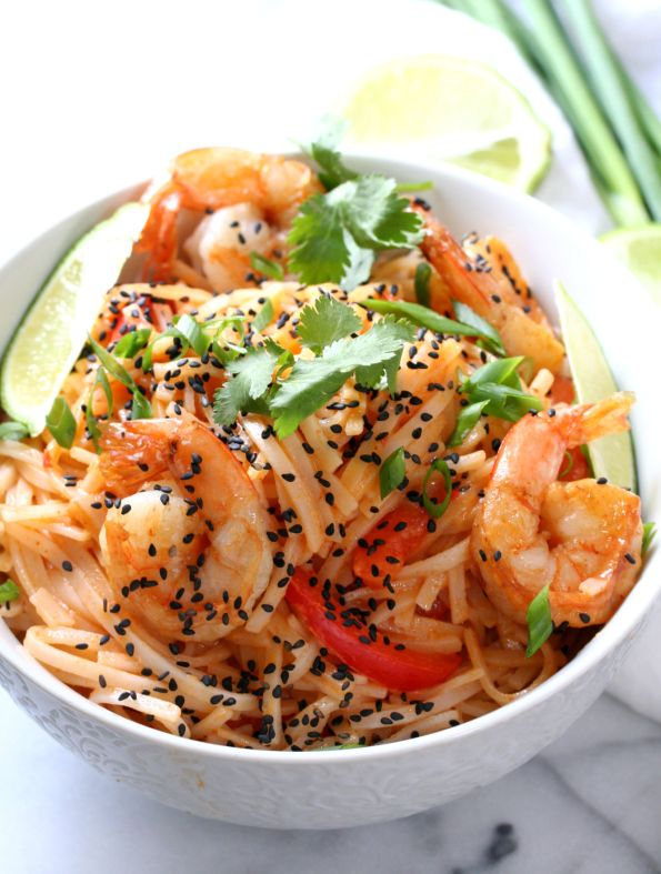 Thai Red Curry Coconut Noodles