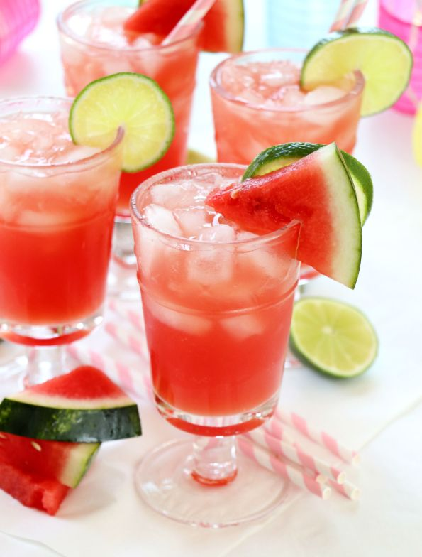Watermelon Lime Margarita