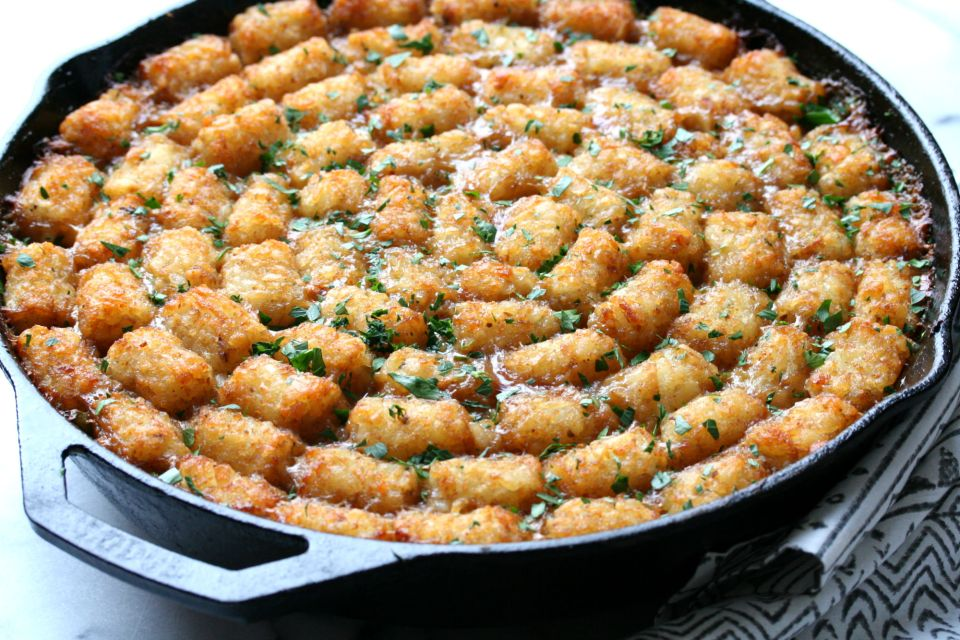 Tater Tot Casserole | Dash of Savory | Cook with Passion
