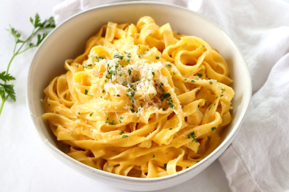 Roasted Butternut Squash Alfredo
