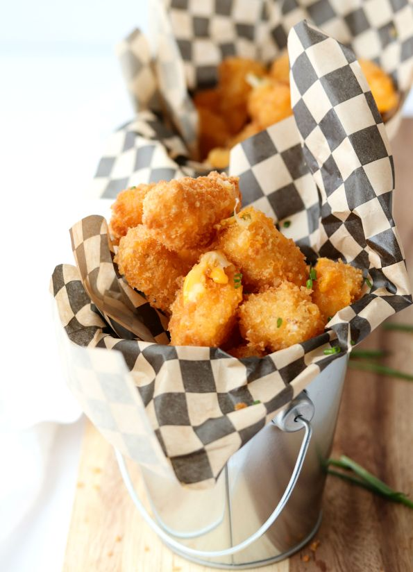 Crunchy Fried Cheese Bites