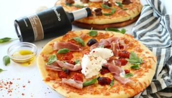 Homemade Prosciutto and Arugula Pizza Recipe   Dash of Savory