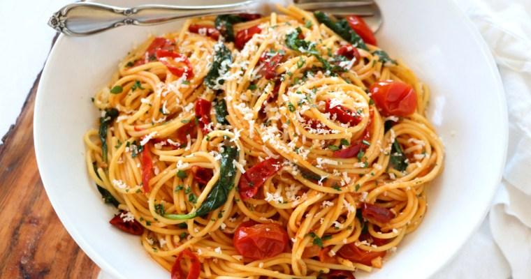Spicy Calabrian Chili Pasta