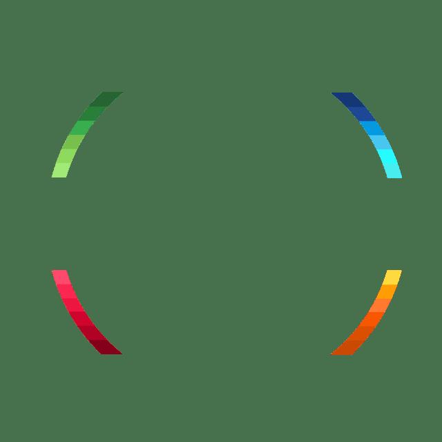 color wheel swirling