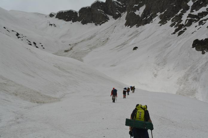 On the way to Babun Gali (3740m)