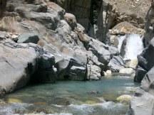 Waterfall near Shabronz