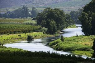 Breede River, South Africa. Amazing Africa Red Nose Day