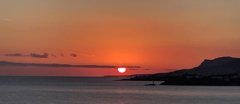 Sunset in Crete by Olivier DASINI