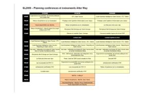 Programme conférences Alter Way Solution Linux 2009