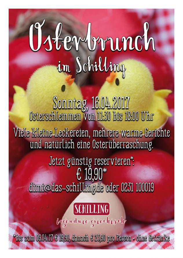 Schilling – Osterbrunch 2017