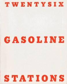 Künstlerbuch   Ed Ruscha. Twentysix Gasoline Stations, 1963