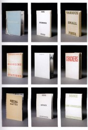Various Small Books (MIT Press, 2013)