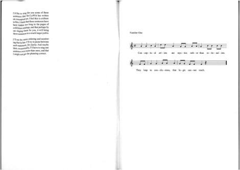 Baldessari sings LeWitt 1