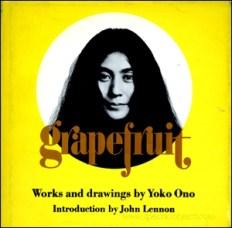 Künstlerbuch   Artists' book: Grapefruit, 2000 (Neuauflage), Simon & Schuster, New York