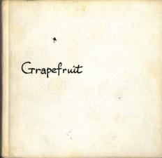 Künstlerbuch   Artists' book: Grapefruit, 1970 (2. Auflage), Simon & Schuster, New York