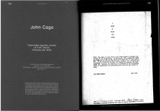 """Ausstellungskatalog   Dieter Daniels / Inke Arns (ed.): Sounds Like Silence. John Cage - 4'33"""" – Silence Today (Spector Books, Leipzig 2012)"""