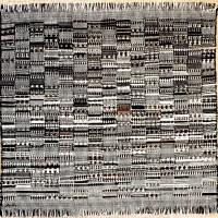 """Der Faden als Bedeutungsträger. Die """"pictorial weavings"""" von Anni Albers   Teil II"""