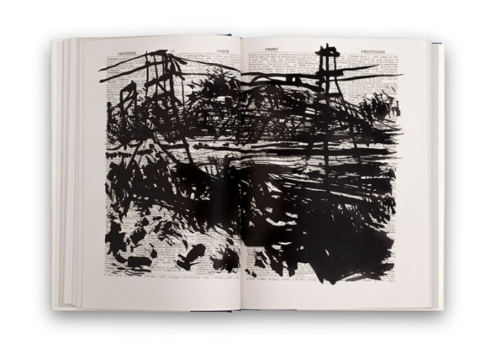 2nd Hand Reading by William Kentridge, 2014 (source: Fourthwall Books)