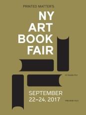 21-24 September 2017 | NY Art Book Fair, New York City, USA