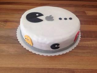 Apple-Pacman-Torte
