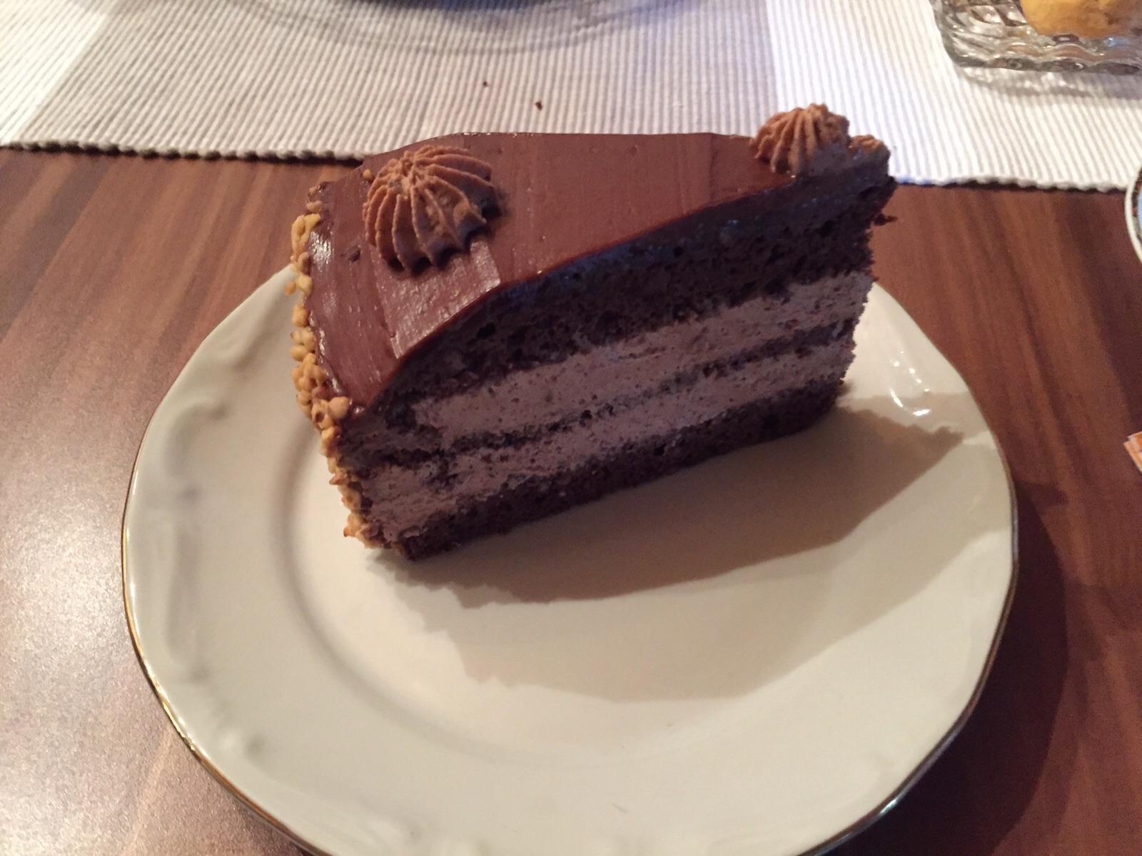Nougat torte selber backen  Appetitlich FotoBlog fr Sie