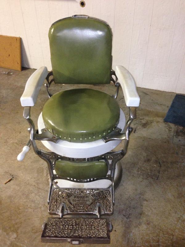 Antique Koken Barber Chair For Sale Make An Offer The Nest