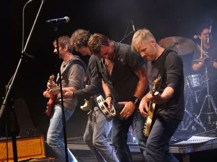 George mit Band live CD Taufe 05.10.18 Mühle Hunziken, Rubigen