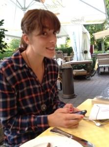 Andrea Petkovic im Twinterview mit DerWesten.